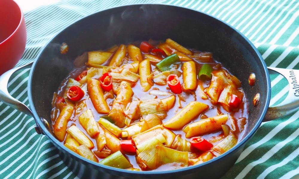 Korean spicy rice cake_2