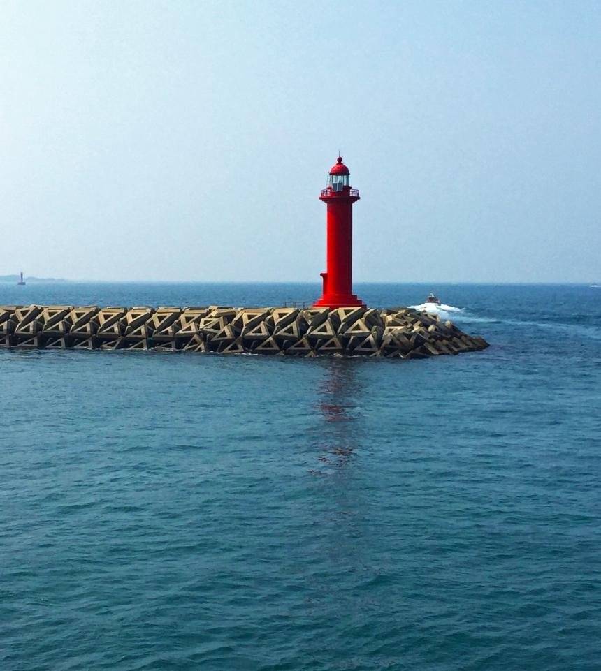 Jeju island lighthouse