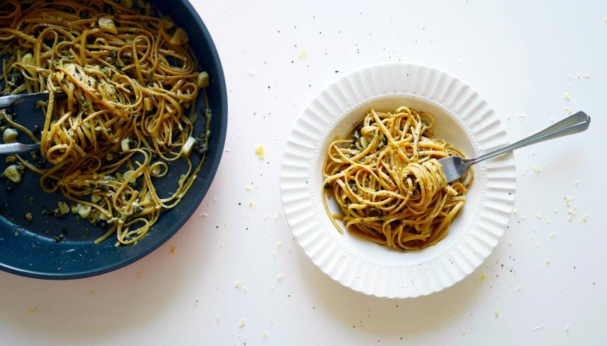 Caper garlic pasta_f1